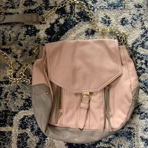 Steve Madden Pink and Grey Purse